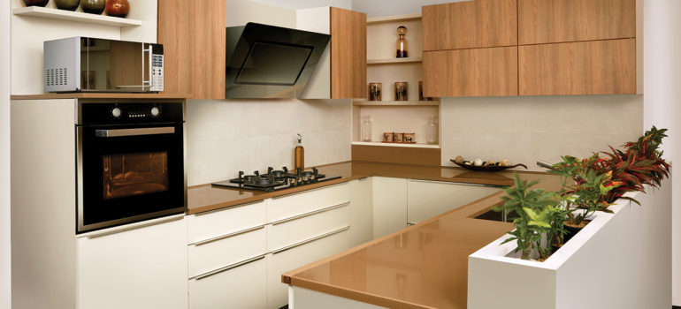 Best Shutter Material for Modular Kitchen Cabinets: Laminate ...