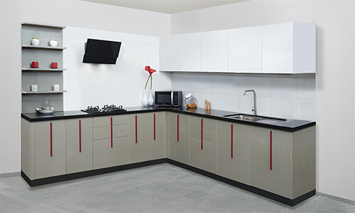 L Shaped Kitchen Design Explained By Saviesa A Modular Kitchen Expert In India